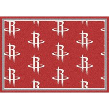 NBA Team Repeat Houston Rockets Novelty Rug