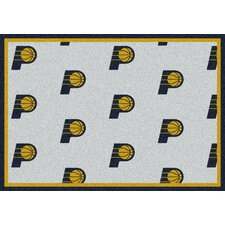 NBA Team Repeat Indiana Pacers Novelty Rug