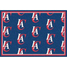 NBA Repeat Los Angeles Clippers Novelty Rug