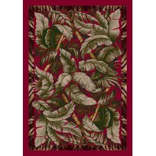 Signature Jungle Fever Ruby Area Rug