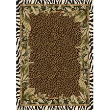 Signature Jungle Safari Emerald Area Rug