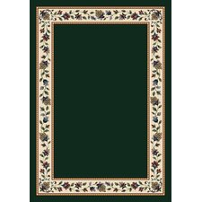 Signature Symphony Emerald Solid Area Rug