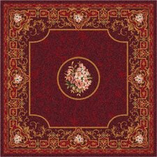 Pastiche Montfluer Dark Cherry Rug