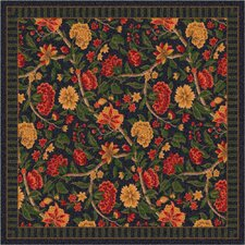 Pastiche Vachell Floral Ebony Area Rug
