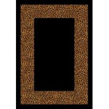 Design Center Golden Leopard Wasabu Area Rug