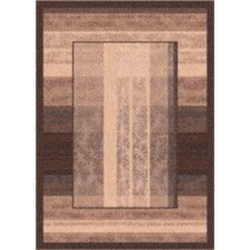 Modern Times Aspire Dark Brown Rug