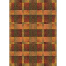 Modern Times Aura Fall Orange Rug