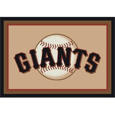 MLB Team Spirit Novelty Rug