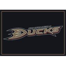 NHL Team Spirit Anaheim Ducks Novelty Rug