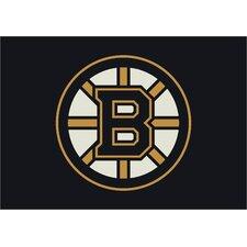 NHL Team Spirit Boston Bruins Novelty Rug
