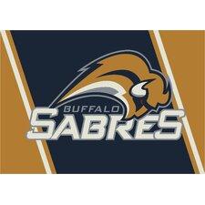 NHL Team Spirit Buffalo Sabres Novelty Rug