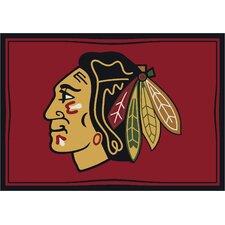 NHL Team Spirit Chicago Blackhawks Novelty Rug