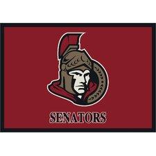 NHL Team Spirit Ottawa Senators Novelty Rug