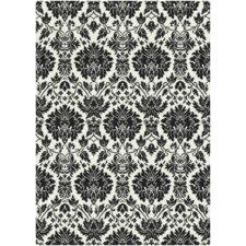 Manor UptownBlack/White Area Rug