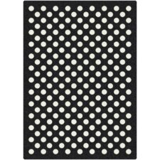 <strong>Milliken</strong> Black & White Eclipse Nightfall Rug