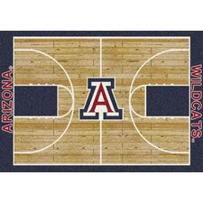 College Home Court NCAA Novelty Rug