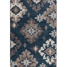 Mix and Mingle Batik Highland Star Rug