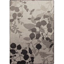 Mix and Mingle Gray Mist Nature's Silhouette Rug