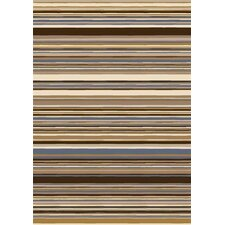 <strong>Milliken</strong> Innovation Lola Dark Amber Striped Rug