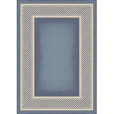 Innovation Light Lapis Old Gingham Area Rug