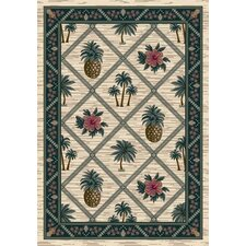 Signature Palm Bay Pearl Novelty Rug