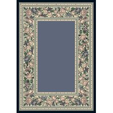 Innovation English Floral Lapis Rug