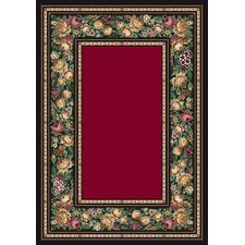 Innovation English Floral Ruby Rug