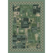 <strong>Milliken</strong> Signature Deer Trail Peridot Novelty Rug