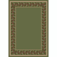 Design Center Wildberry Moss Rug