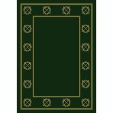 Design Center Rutherford Olive Novelty Rug