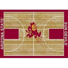 NCAA Court Novelty Rug