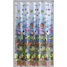 Peva Shoal Mosaic Shower Curtain