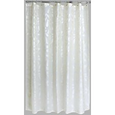 Polyester Silk Leaf Shower Curtain