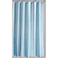 Polyester Coastal Stripe Shower Curtain