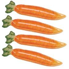 Giardino Botticelli Carrot Serving Dish (Set of 4)