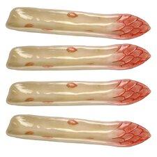Giardino Botticelli Asparagus Serving Dish (Set of 4)