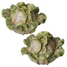 French Garden Cabbage Salt and Pepper Set
