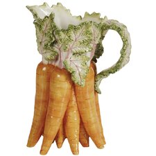 French Garden Lapin Carrot Pitcher
