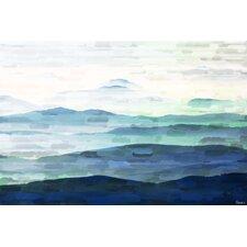Mountain Tops - Art Print on Premium Canvas