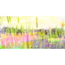 Green Grass Painting Prints on Canvas