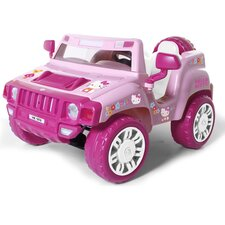 Hello Kitty Battery Powered Jeep