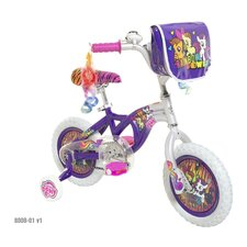 "My Little Pony Girls 12"" Road Bike"