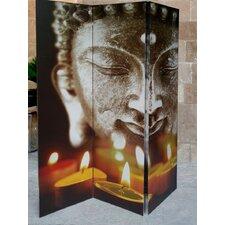 3-tlg. Raumteiler Buddha II