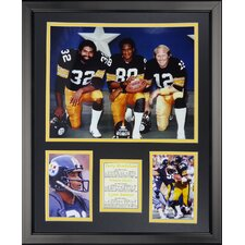 Pittsburgh Steelers - 1970s Posed Framed Photo Collage