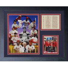 St. Louis Cardinals - Retired Numbers Framed Photo Collage