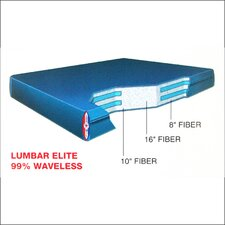 "Dreamweaver The Ultimate 9"" Lumbar Elite Waterbed Mattress"
