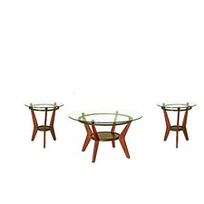 Maywood 3 Piece Coffee Table Set (Set of 3)