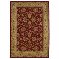 Allure Red/Beige Area Rug