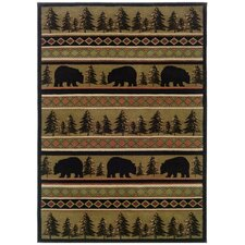Hudson Black / Beige Novelty Rug