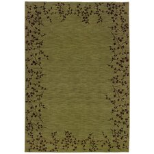 Allure Green/Brown Area Rug